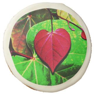 Redbud Heart Leaf Sugar Cookie