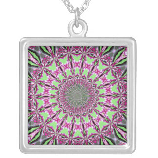 Redbud Medallion Necklace