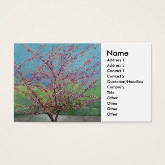 Redbud Tree Business Card