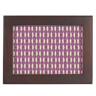 Redbud Tribal Pattern Keepsake Box