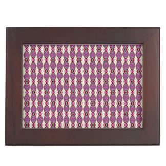 Redbud Tribal Pattern Memory Boxes
