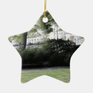 Redcliff square Garden in London Ceramic Ornament