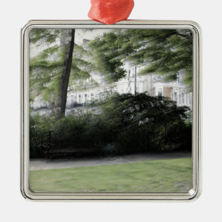 Redcliff square Garden in London Metal Ornament