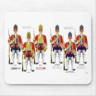 Redcoat soldiers mouse pad