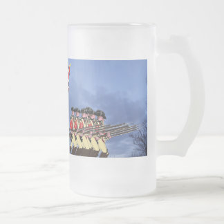 Redcoats Are Coming!.. Frosted Glass Beer Mug