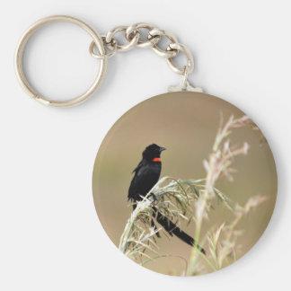 Redcollared Widow Key Chain