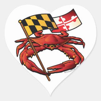 RedCrab_MD_banner.ai Heart Sticker