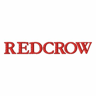 RedCrow Logo Polo with Missing Crow