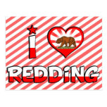 Redding, CA Postcard