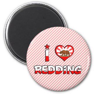 Redding, CA Refrigerator Magnet