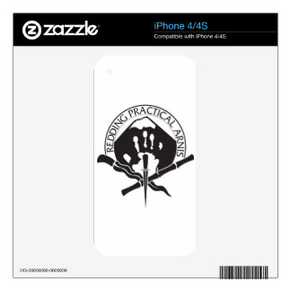 Redding Practical Arnis LOGO iPhone 4S Skin