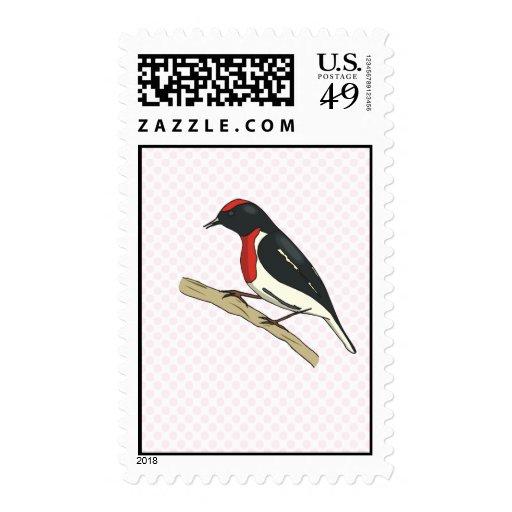 Redding Robin Postage Stamp