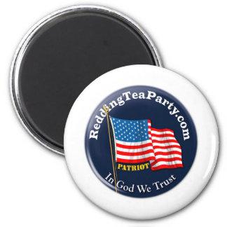 Redding Tea Party Magnet