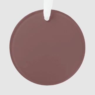 Reddish Brown Solid Color