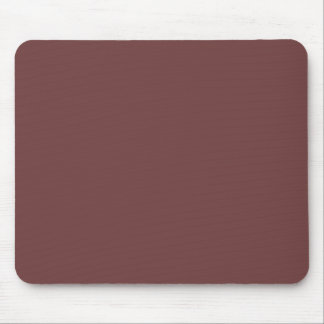 Reddish Brown Solid Color Mouse Pad