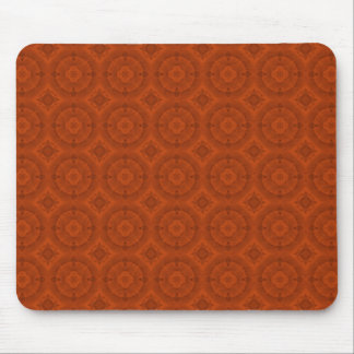 Reddish colored wood pattern mouse pad