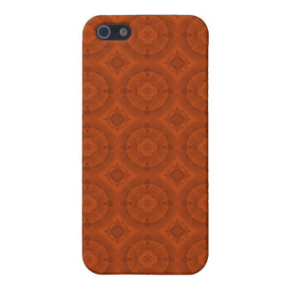 Reddish colored wood pern case for iPhone SE/5/5s