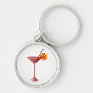 reddish drink blue straw orange graphic.png keychain