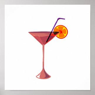 reddish drink blue straw orange graphic.png print