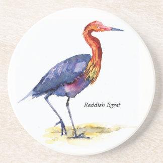 Reddish Egret coaster