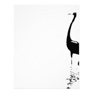 Reddish Egret Letterhead