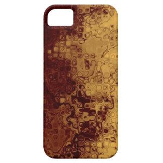 Reddish & Gold Grunge Pattern iPhone 5 Case