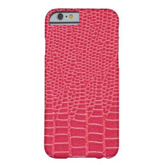Reddish Pink Snakeskin Design iPhone 6/6s Case
