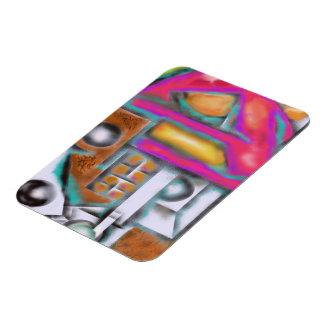 Reddog Abstract Design Magnet