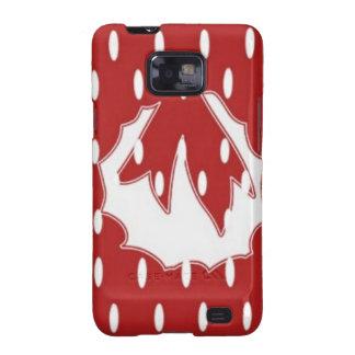 RedDot WhiteDot Wreath Design by Navin Samsung Galaxy S2 Cases