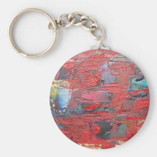Reddy or Not Basic Round Button Keychain