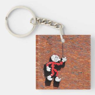 Reddy or Not Keychain