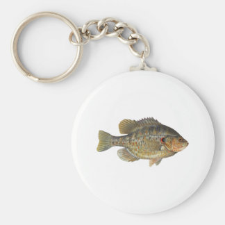 Redear Sunfish - Shellcracker Basic Round Button Keychain