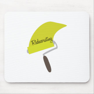 Redecorating Paint Mouse Pad