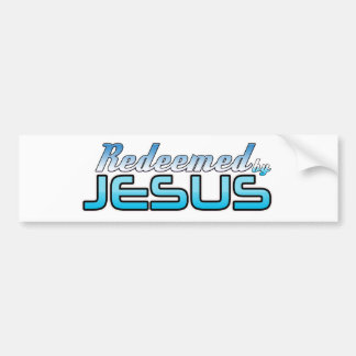 Redeemed by Jesus Bumper Sticker
