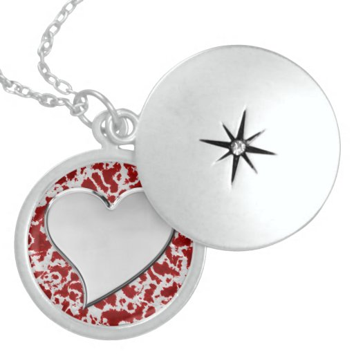 Redeemed by Love Round Locket Necklace