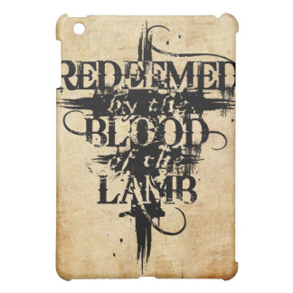 Redeemed by the Blood of the Lamb iPad case