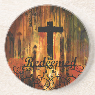 Redeemed Cross Coasters