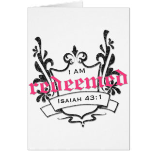 Redeemed Greeting Cards