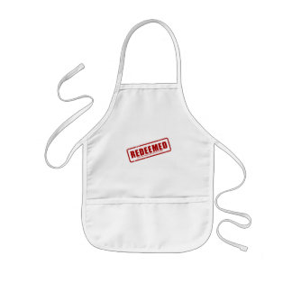 Redeemed With The Precious Blood of Christ Kids' Apron