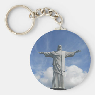 Redeeming Christ Rio De Janeiro Basic Round Button Keychain