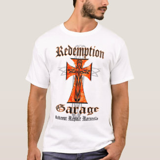 Redemption Garage Tribal Cross T-Shirt