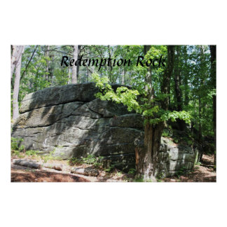 Redemption Rock Massachusetts Poster Print