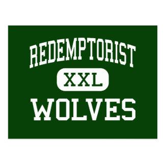 Redemptorist - Wolves - High - Baton Rouge Postcard