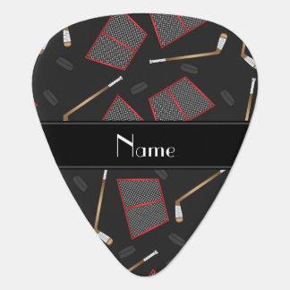 Redes negras conocidas de encargo de los duendes plumilla de guitarra