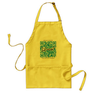 Redesign your Qrazzle gift Adult Apron
