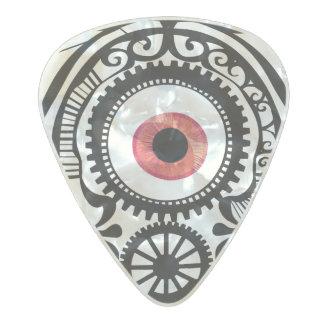 Redeye del caramelo del ojo púa de guitarra celuloide nacarado