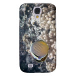 Redfin Butterflyfish (Chaetodon lunulatus) Samsung Galaxy S4 Covers