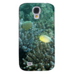 Redfin Butterflyfish (Chaetodon lunulatus) Samsung Galaxy S4 Cases