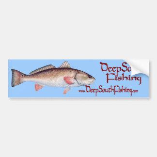 RedFish Bumper Sticker Car Bumper Sticker