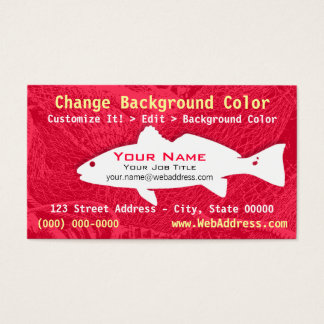 Redfish Business Card